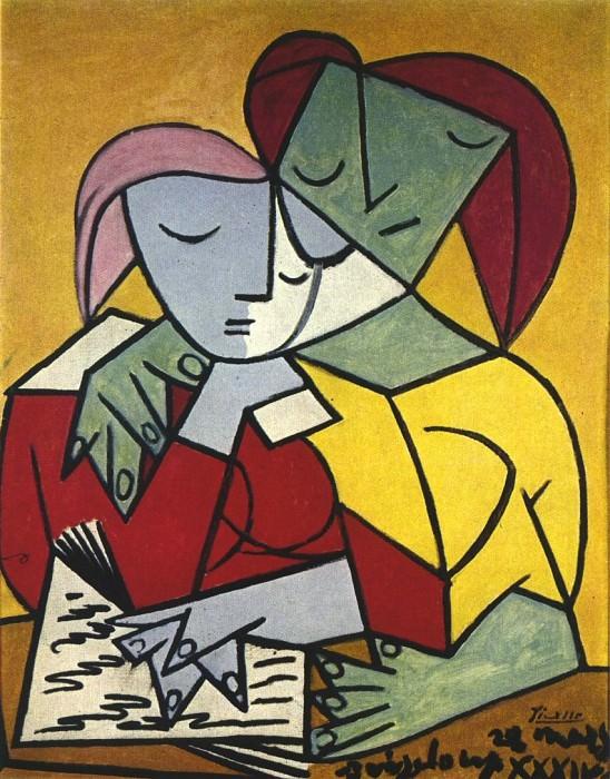 1934 Deux personnages 2. Пабло Пикассо (1881-1973) Период: 1931-1942