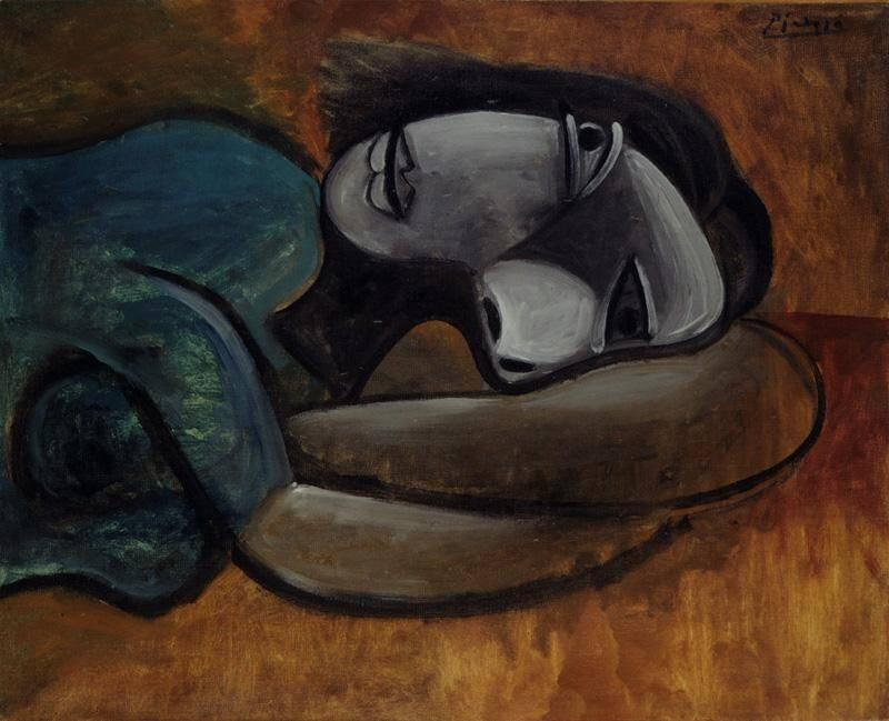 1940 Femme se reposant. Pablo Picasso (1881-1973) Period of creation: 1931-1942