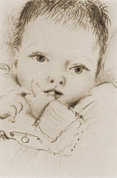 1935 Maya Е trois mois. Пабло Пикассо (1881-1973) Период: 1931-1942
