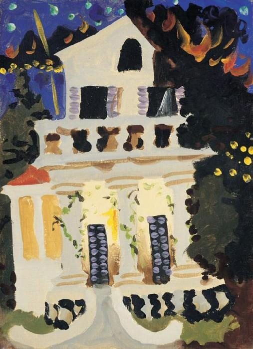 1931 Maison a Juan Les Pins. Pablo Picasso (1881-1973) Period of creation: 1931-1942
