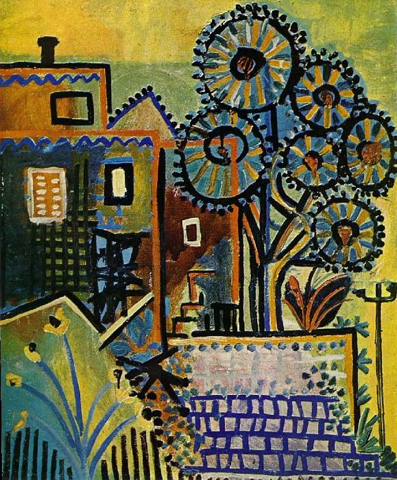 1937 Maisons et arbres. Pablo Picasso (1881-1973) Period of creation: 1931-1942