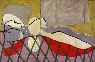 1934 Femme Вtendue sur une canapВ. Пабло Пикассо (1881-1973) Период: 1931-1942