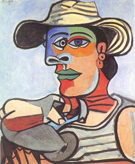 1938 Marin. Pablo Picasso (1881-1973) Period of creation: 1931-1942