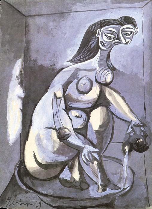 1939 Femme se baignant. Pablo Picasso (1881-1973) Period of creation: 1931-1942