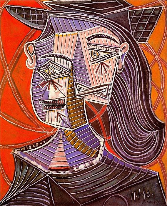 1940 Buste de femme 1. Pablo Picasso (1881-1973) Period of creation: 1931-1942