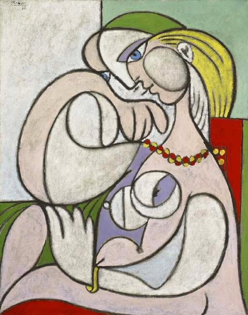 1932 Nu au collier. Pablo Picasso (1881-1973) Period of creation: 1931-1942