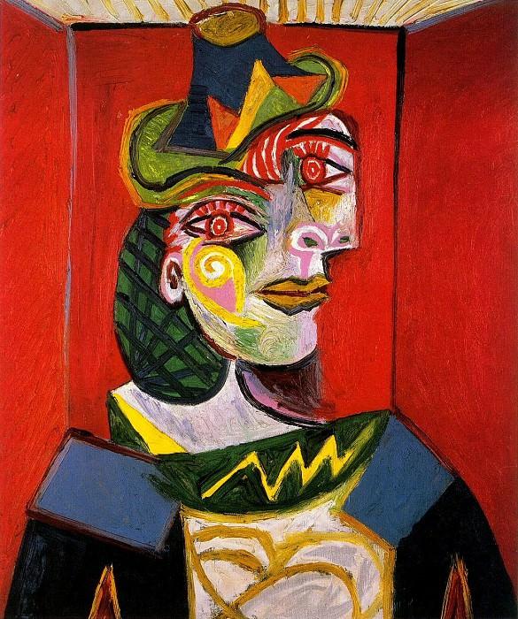 1938 Portrait de Dora Maar. Pablo Picasso (1881-1973) Period of creation: 1931-1942