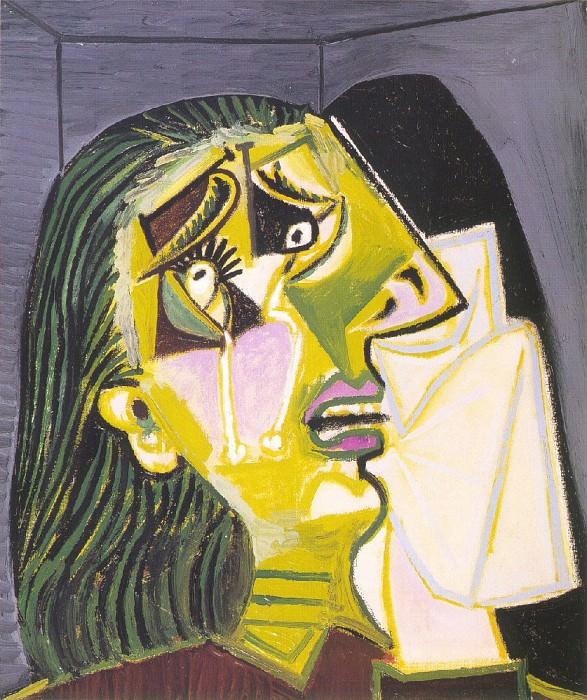 1937 La femme qui pleure 10. Pablo Picasso (1881-1973) Period of creation: 1931-1942