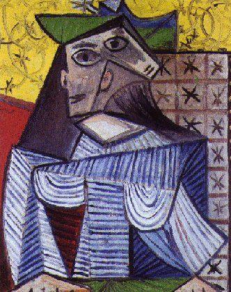 1941 Buste de femme (Portrait de Dora Maar). Pablo Picasso (1881-1973) Period of creation: 1931-1942