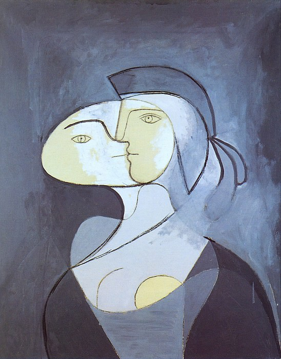 1931 Marie-ThВrКse - face et profil. Pablo Picasso (1881-1973) Period of creation: 1931-1942