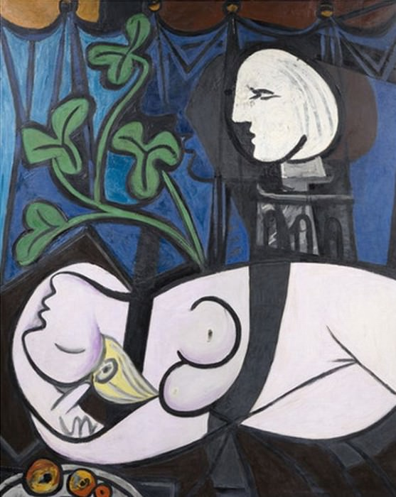 1932 Nude, Green Leaves and Bust. Pablo Picasso (1881-1973) Period of creation: 1931-1942