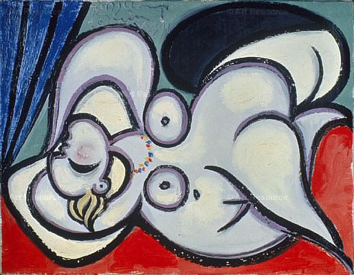 1932 Nu couchВ1. Pablo Picasso (1881-1973) Period of creation: 1931-1942