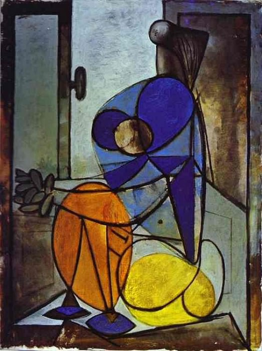 1937 Figure assise. Pablo Picasso (1881-1973) Period of creation: 1931-1942