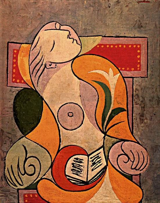 1932 La lecture (Marie-ThВrКse). Pablo Picasso (1881-1973) Period of creation: 1931-1942