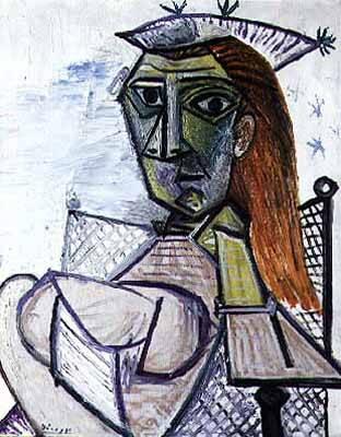 1941 Femme assise dans un fauteuil 3. Pablo Picasso (1881-1973) Period of creation: 1931-1942