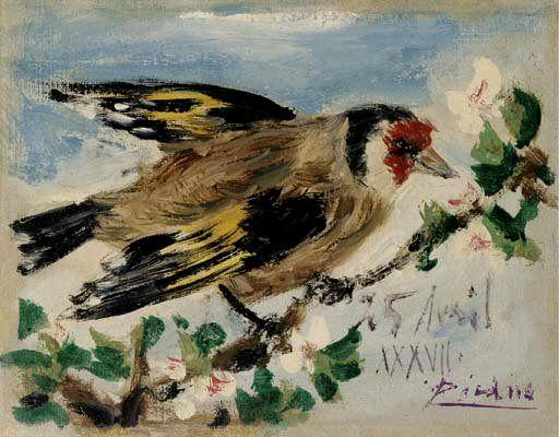 1937 Oiseau. Pablo Picasso (1881-1973) Period of creation: 1931-1942