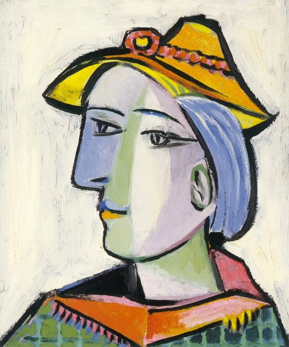1936 Marie-ThВrКse Walter au chapeau. Pablo Picasso (1881-1973) Period of creation: 1931-1942