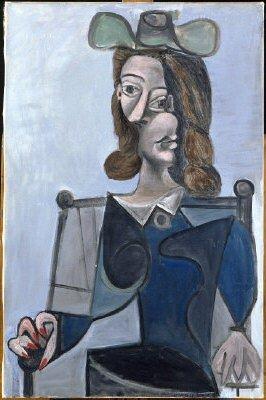 1941 Buste de femme au chapeau. Pablo Picasso (1881-1973) Period of creation: 1931-1942