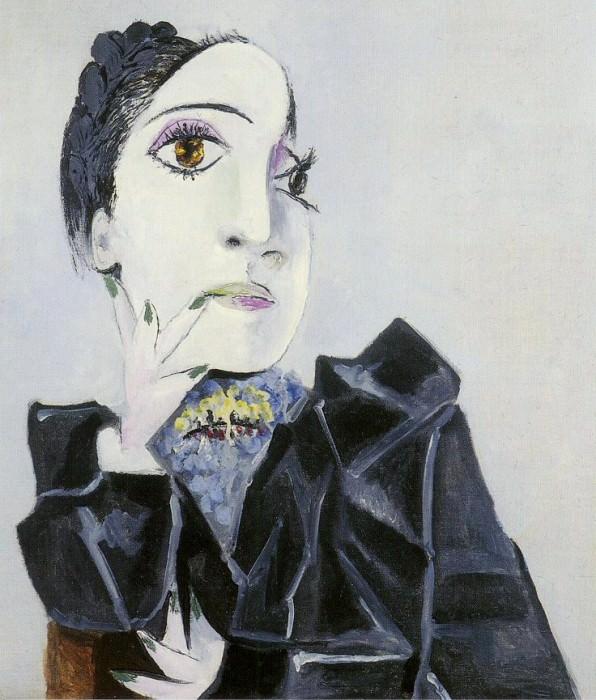 1936 Buste de Dora Maar 1. Pablo Picasso (1881-1973) Period of creation: 1931-1942