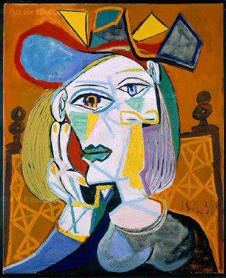 1939 Femme assise au chapeau 1. Pablo Picasso (1881-1973) Period of creation: 1931-1942