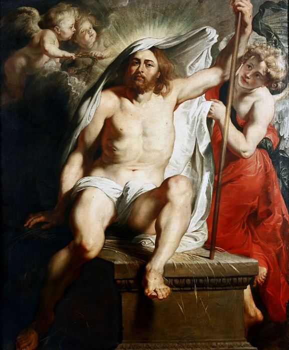 Peter Paul Rubens -- Resurrected Christ Triumphant. Peter Paul Rubens