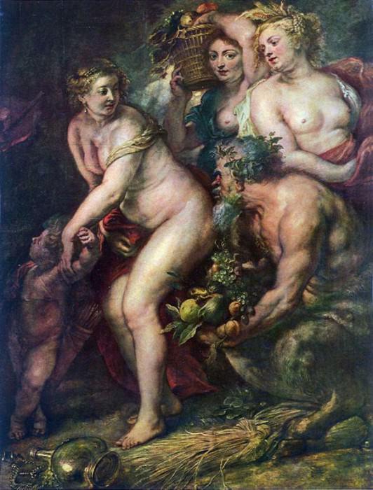 Sine Cerere et Baccho friget Venus. Peter Paul Rubens