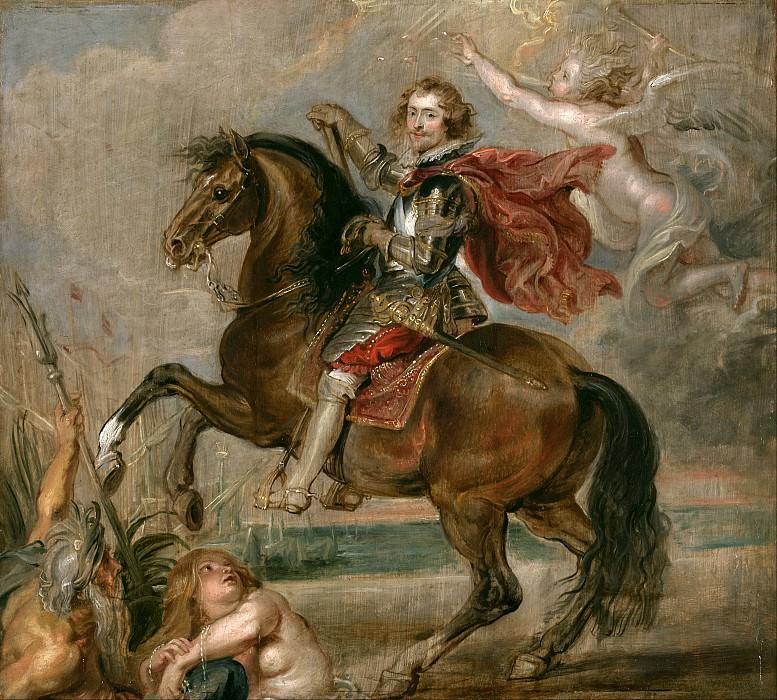 Конный портрет герцога Бекингема. Питер Пауль Рубенс