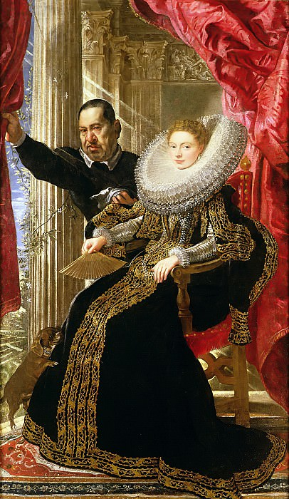 Маркиза Мария Гримальди. Peter Paul Rubens