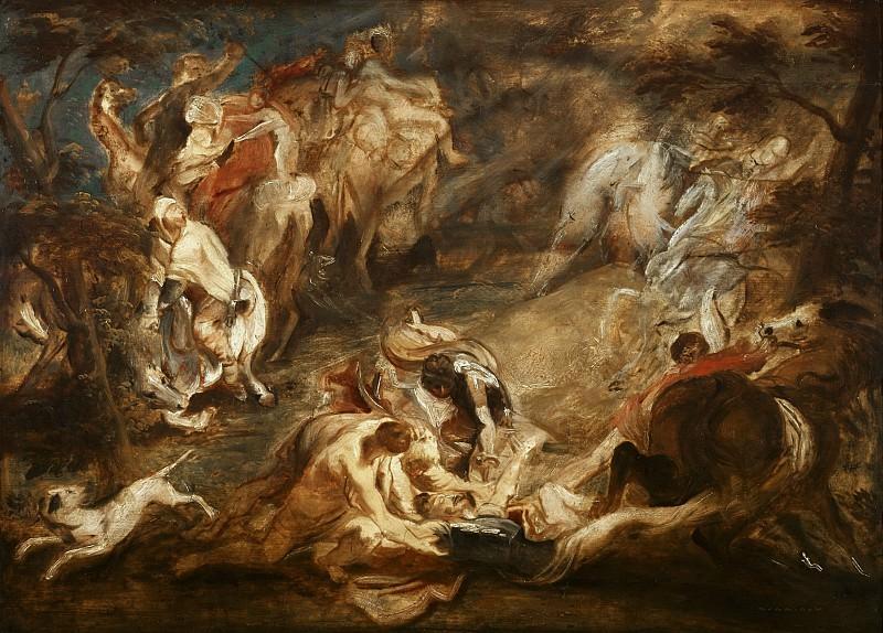 Conversion of Saint Paul --. Peter Paul Rubens