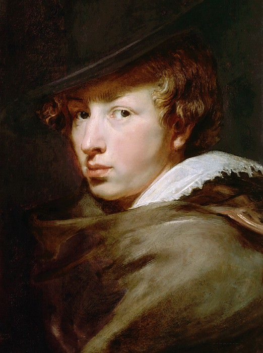 Портрет Антониса ван Дейка. Peter Paul Rubens