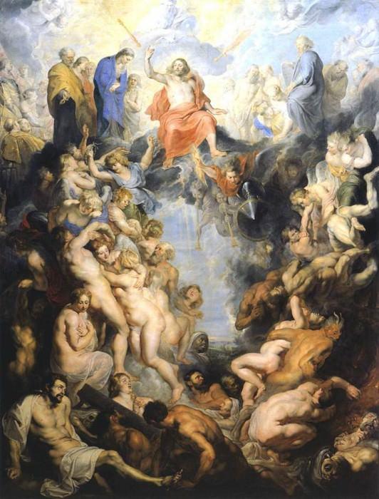 The Last Judgement - 1617. Peter Paul Rubens