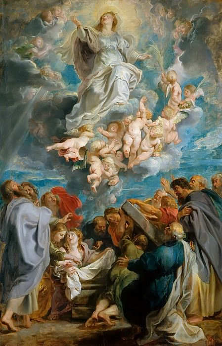 Вознесение Девы Марии. Питер Пауль Рубенс