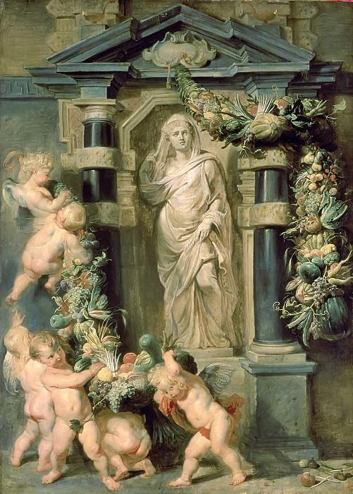 The Statue of Ceres - Статуя Цереры - 1612 -1615. Peter Paul Rubens