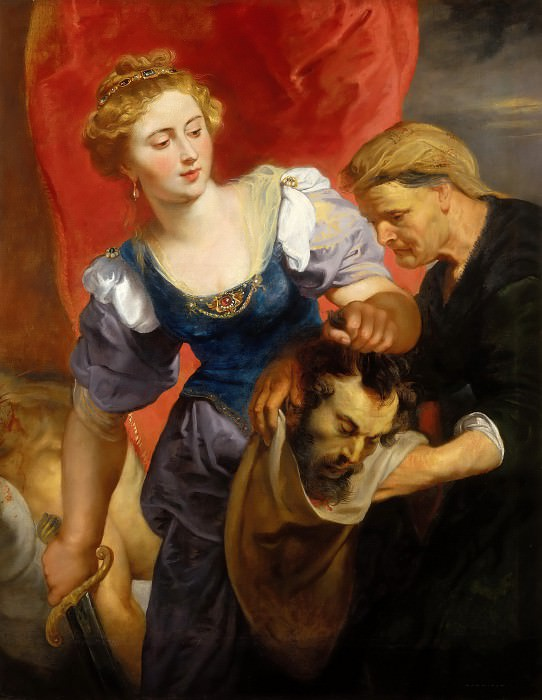 Peter Paul Rubens -- Judith with the Head of Holofernes. Peter Paul Rubens
