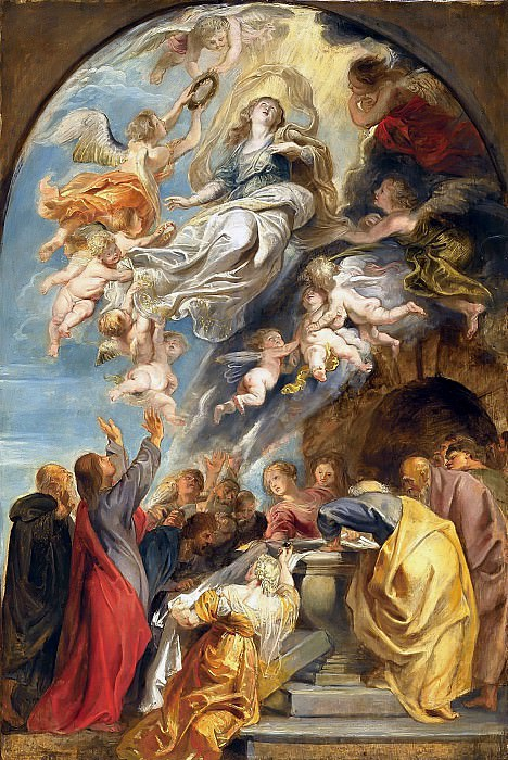 The Assumption of Mary - 1620 -1622. Peter Paul Rubens