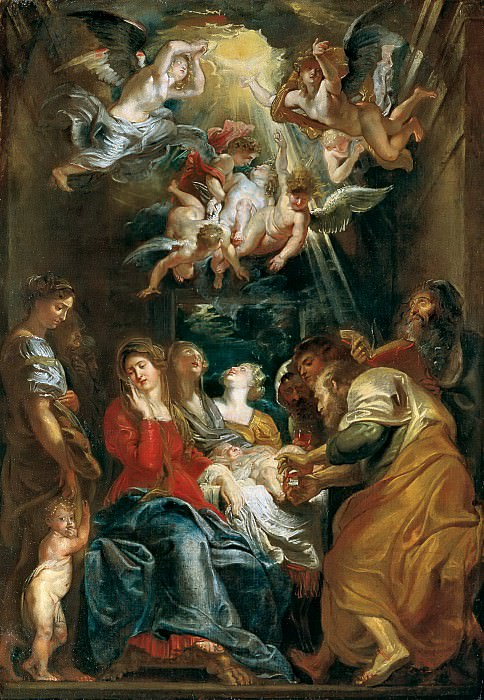 Circumcision of Christ - 1605. Peter Paul Rubens