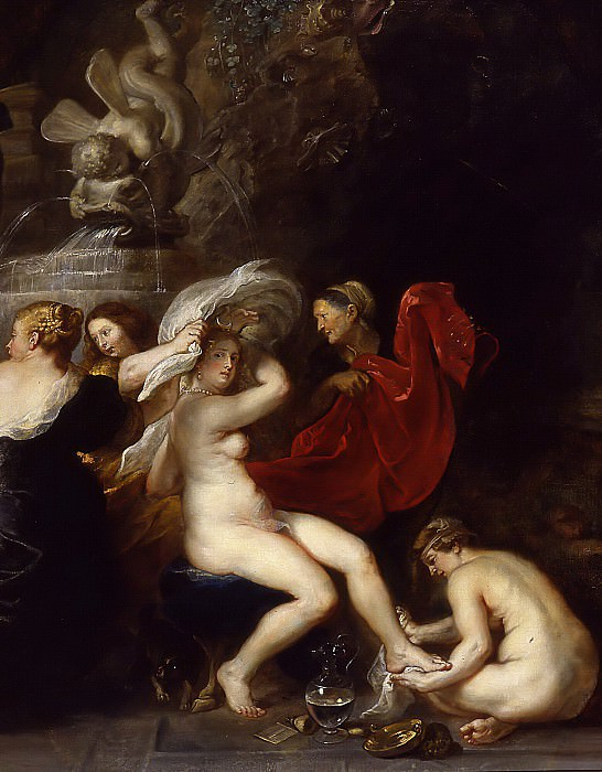 Peter Paul Rubens -- The bath of Diana, 1635-1640. Peter Paul Rubens
