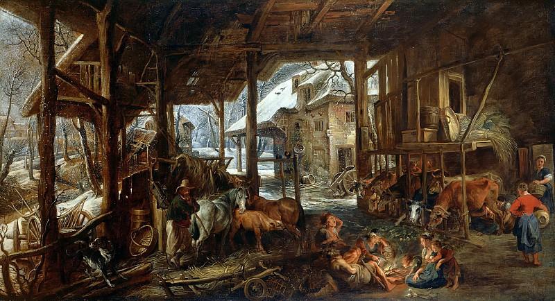 Хлев. Peter Paul Rubens