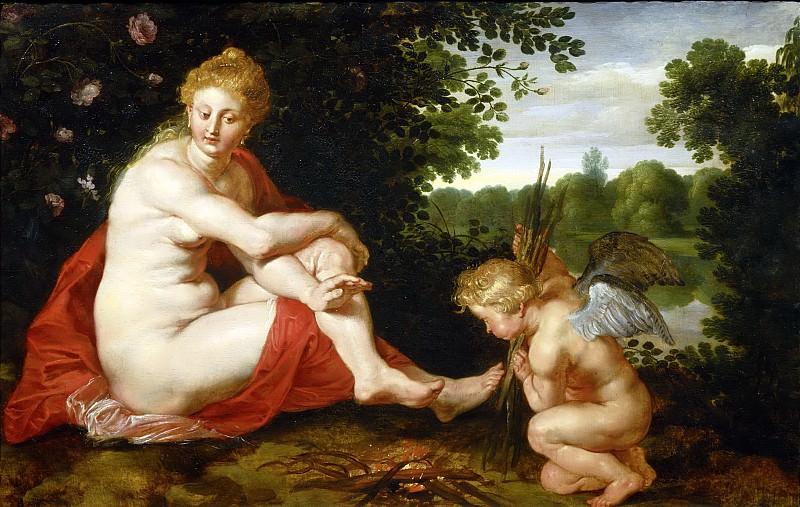 Венера и Амур. Peter Paul Rubens