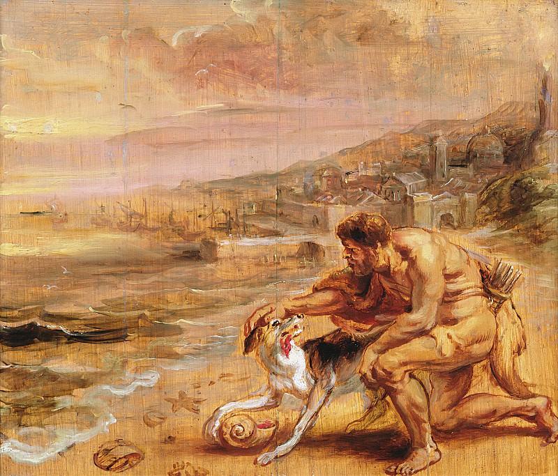 Нахождение пурпурного красителя. Peter Paul Rubens