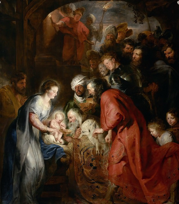 Поклонение волхвов. Peter Paul Rubens