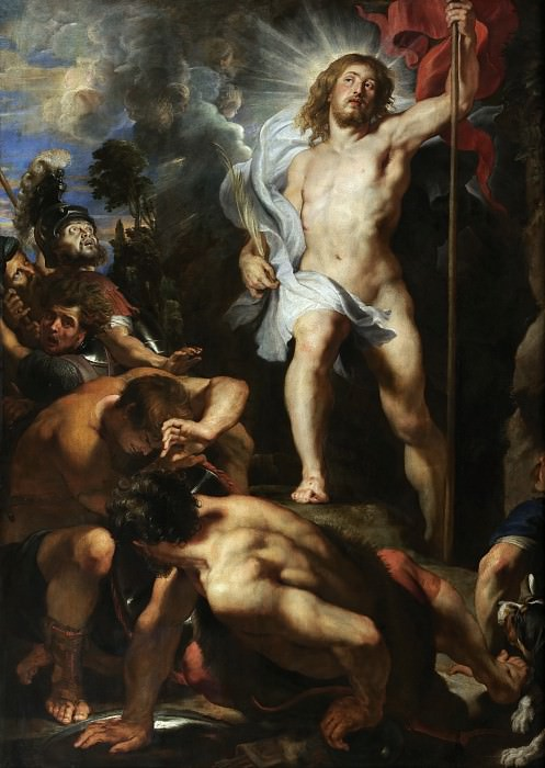 The Resurrection of Christ - 1611 -1612. Peter Paul Rubens