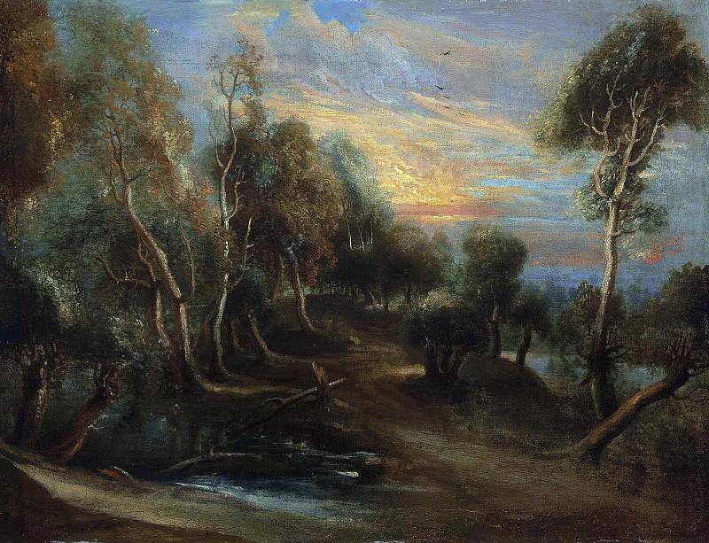 Лесной пейзаж. Peter Paul Rubens