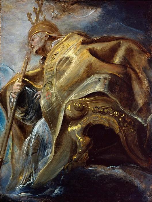 Святой Григорий Великий. Peter Paul Rubens