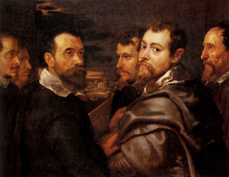 Rubens The Mantuan Circle Of Friends. Peter Paul Rubens