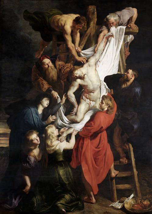 Снятие с креста, центр. Питер Пауль Рубенс
