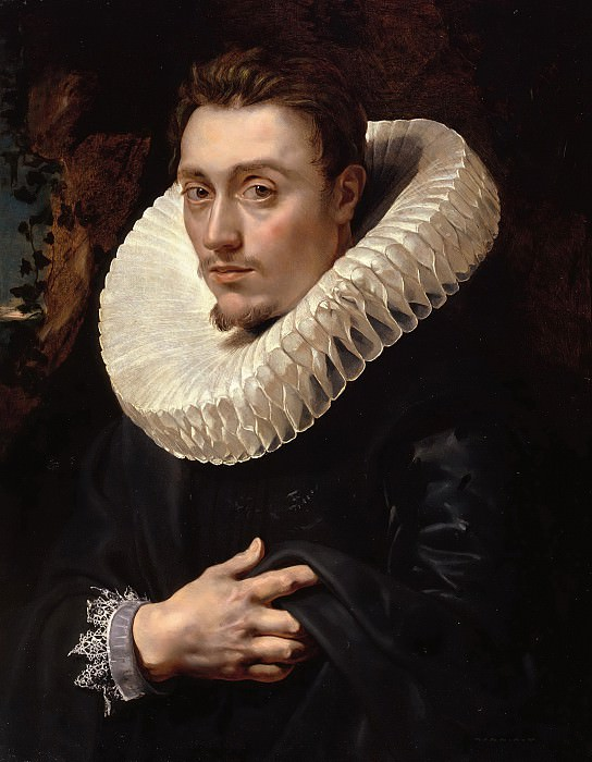 Peter Paul Rubens ( 1577 ? 1640 ) -- Portrait of a Young Man. Peter Paul Rubens