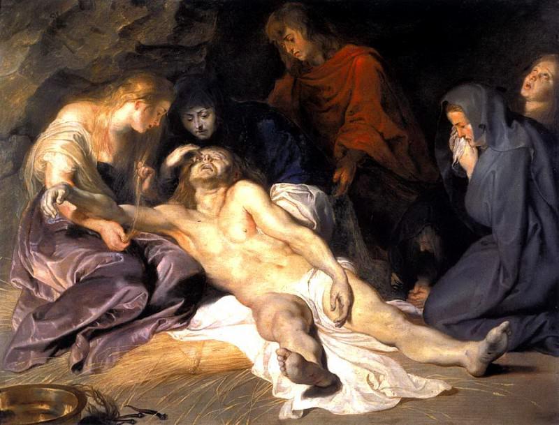 Оплакивание Христа - 1614. Питер Пауль Рубенс