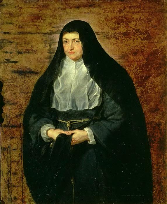 Инфанта Изабелла Клара Евгения в образе монахини. Peter Paul Rubens