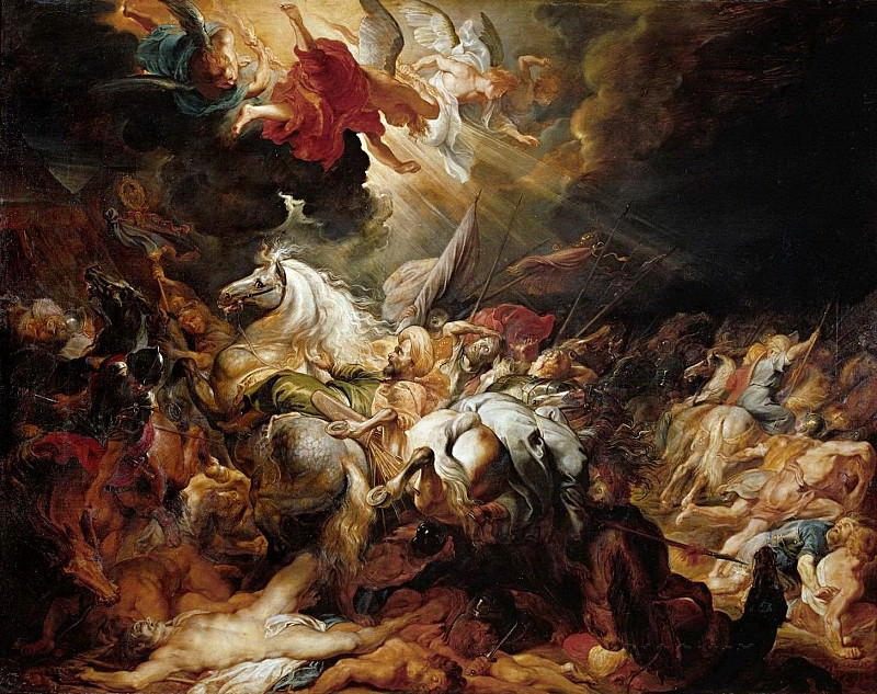Peter Paul Rubens -- Defeat of Sanherib, King of Assur. Peter Paul Rubens